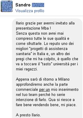 Testimonianze Sandro